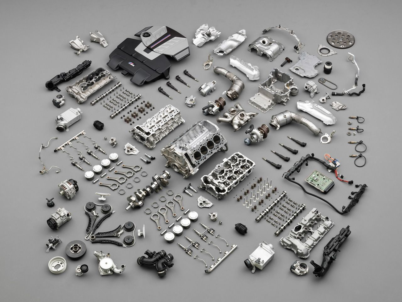 Bmw Auto Part Mixing Quality With Elegance Cars At Large